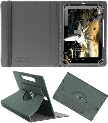 ACM Book Cover for Fujezone Smart Tab A200(Grey, Cases with Holder)