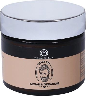 The Man Company Beard Wax Argan & Geranium for beard styling (50 gm) Hair Styler