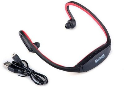 goglesourcing bs19c Bluetooth Headset with Mic(red, In the Ear) Flipkart