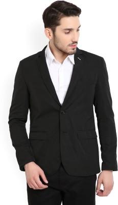 Arrow New York Solid Single Breasted Casual Men's Blazer