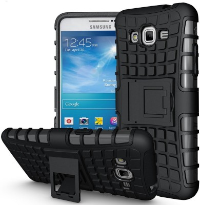 Wellmart Back Cover for Samsung Galaxy Grand Prime G530H(Black, Shock Proof, Rubber, Plastic)