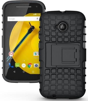 Flipkart SmartBuy Back Cover for Motorola Moto E (2nd Gen) 4G(Black, Grip Case)