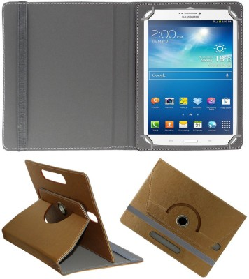 ACM Flip Cover for Samsung Galaxy Tab 3 T311(Gold, Cases with Holder)