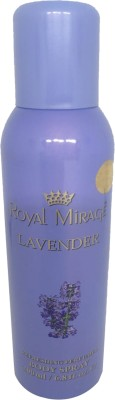 Royal Mirage Lavender Refreshing Perfumed Body Spray Body Spray  -  For Men & Women(200 ml) Flipkart