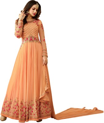edce7a7e1d 78% OFF on Vaidehi Fashion Georgette Embroidered Semi-stitched Salwar Suit  Material, Salwar Suit Material, Salwar Suit Material on Flipkart |  PaisaWapas.com