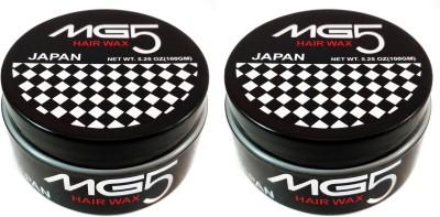 MG5 hair wax Super Hold Wax 200 gm Pack of 2 Hair Styler