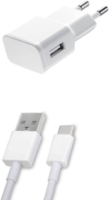 DAKRON Wall Charger Accessory Combo for Samsung Galaxy C9 Pro White DAKRON Mobiles Accessories Combos