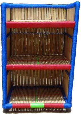 mses Bamboo Wall Shelf(Number of Shelves - 3)