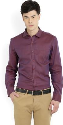 Indigo Nation Men's Self Design Formal Shirt
