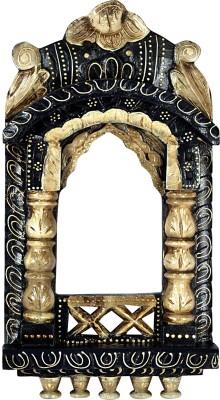 Lal Haveli Handmade Photo Frame Wooden Jharokha(41 cm x 23 cm Handcrafted) at flipkart