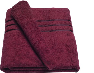 Nova Home Cotton 430 GSM Bath Towel(Brown)