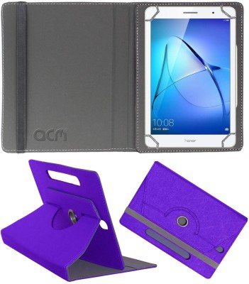 ACM Flip Cover for Honor MediaPad T3 8 inch(Purple, Cases with Holder)