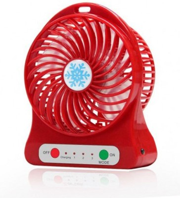 BUY SURETY New Arrival Mini Air Conditioner Usb Mini Cooler/mini Fan/ceiling/usb Fan For Kitchen/home/indoor/outdoor/office Ceiling/wall/exhaust/ Mini Fan/mini cooler 4 Blade Table Fan(Multicolor)  available at flipkart for Rs.239