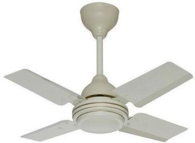 Sameer Gati 24 white 4 Blade Ceiling Fan(Red)