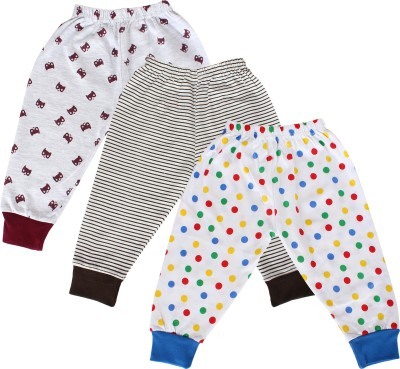 Tiddlee Track Pant For Boys & Girls(Multicolor Pack of 3)