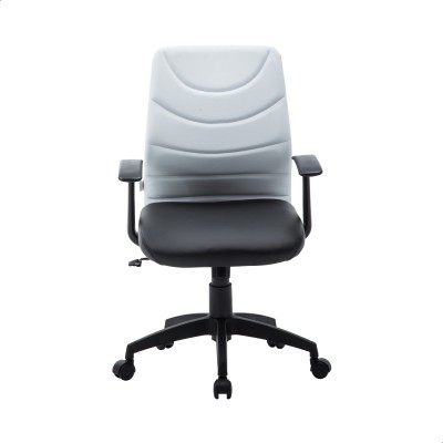 Perfect Homes by Flipkart Warren Leatherette Office Arm Chair(White)
