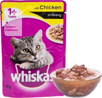 Whiskas Gravy Chicken 85 g Wet Cat Food