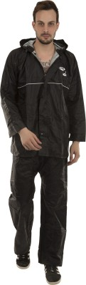 Burdy Solid Men Raincoat at flipkart