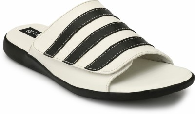 Eego Italy Men White Sandals