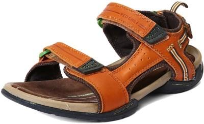 03cf85b63 8% OFF on Red Chief Men Tan Sandals on Flipkart