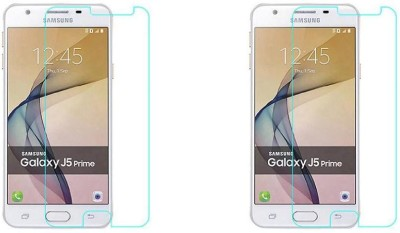 Phonicz Retails Tempered Glass Guard for Samsung Galaxy J5 Prime(Pack of 2)