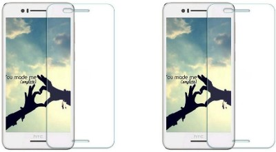 MudShi Tempered Glass Guard for HTC Desire 728 Dual Sim(Pack of 2)