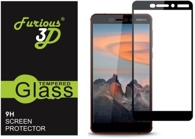 Furious3D Tempered Glass Guard for Nokia 6.1(Pack of 1)