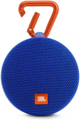 JBL JBL Clip 2 Bluetooth speaker 3 W Portable Bluetooth  Speaker(Blue, Stereo Channel)