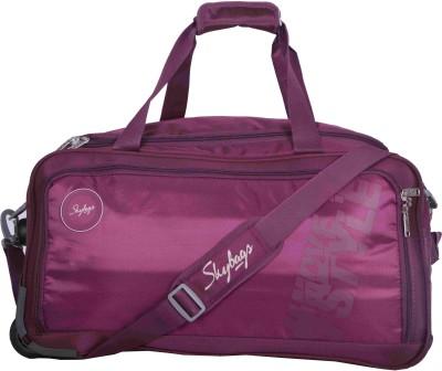 Skybags Casper Duffle on Wheel Purple - 57CM - (PURPLE) Travel Duffel Bag(Purple) at flipkart