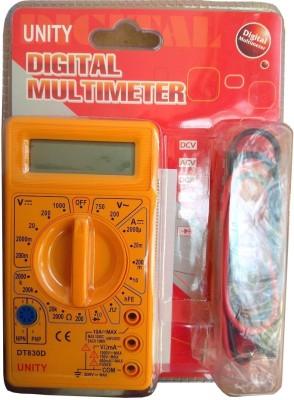 Inditrust DT830D Digital Multimeter LCD AC DC Measuring Voltage Current Digital Multimeter(2000 Counts)