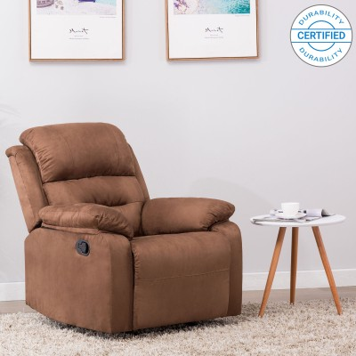Westido Emporio Leatherette Manual Recliners(Finish Color - Brown)