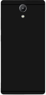 MOBIVIILE Back Cover for Lenovo Phab 2 PB2-650M (Not For Phab 2 Plus)(Matte Black, Rubber)
