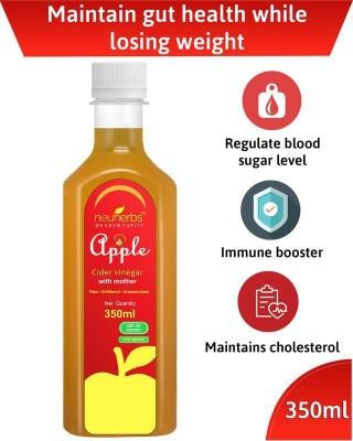 Neuherbs Apple Cider Vinegar with Mother 350 ml Apple Cider Vinegar(350 ml)  available at flipkart for Rs.159