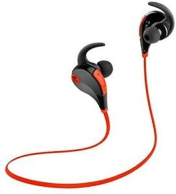 goglesourcing qy7 Bluetooth Headset with Mic(red, In the Ear) Flipkart
