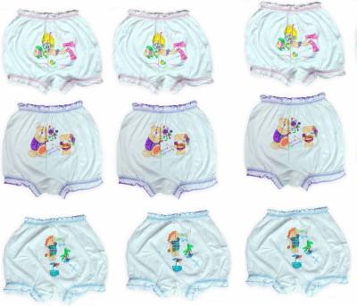 Lenity Panty For Unisex(White, Pack of 9) at flipkart