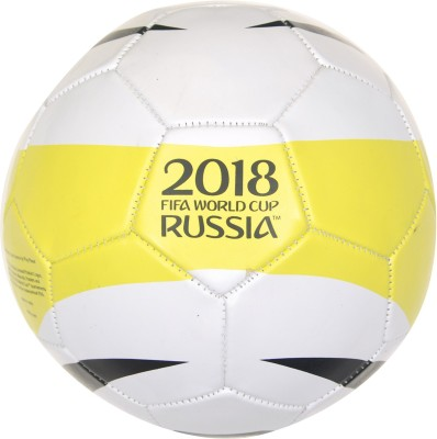 FIFA World Cup Russia Sprint Football   Size: 5 Pack of 1, White, Black, Yellow  FIFA Footballs
