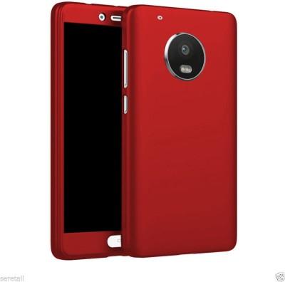 E TREE Back Cover for Motorola Moto G5 Plus Red