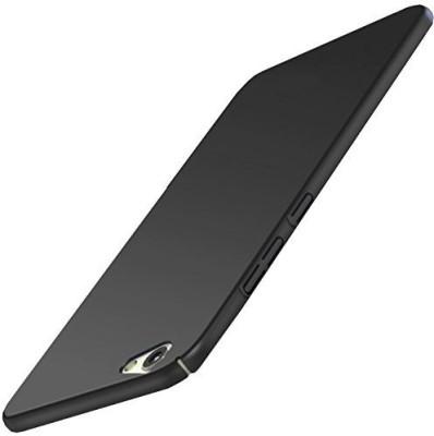 Rkandroid Back Cover for Vivo V5 Plus Hard case 4 cut All Side Protection Back Cover (Black)(Black, Hard Case, Plastic)