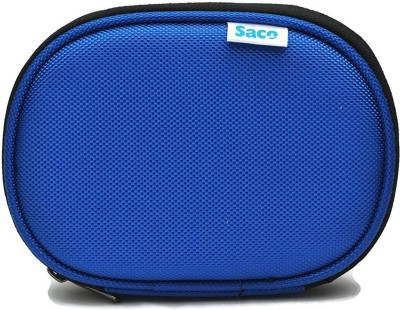 Saco Back Cover for WD Passport Ultra 2.5 inch 2 TB External Hard Drive(Blue, Shock Proof, Artificial Leather)
