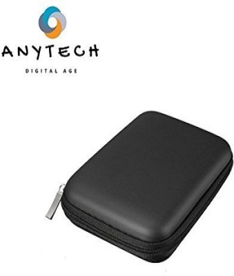 Anytech ™ Hand Carry Case Cover Pouch Bag for 2.5 inch Power Bank USB External WD HDD Hard Disk Drive Protect Protector Bag Enclosure Case 2.5 Pouch(For 2.5 inch External Hard disk, WD, Seagate, Dell, Sony, Samsung, Toshiba, Adata, Black)