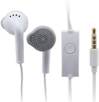 Brand New Samsung EHS64AVFWE 3.5mm Earphones Wired Headset with Mic(White, In the Ear)