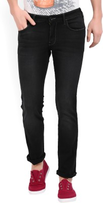 Wrangler Slim Men Black Jeans at flipkart