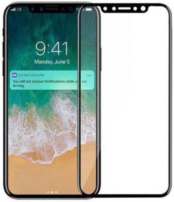 EASYBIZZ Tempered Glass Guard for Apple iPhone X(Pack of 1)