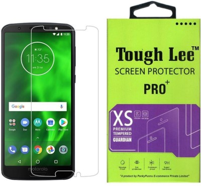 Tough Lee Tempered Glass Guard for Motorola Moto G6(Pack of 1)
