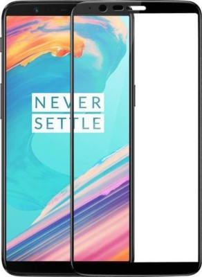 EASYBIZZ Tempered Glass Guard for OnePlus 5T(Pack of 1)