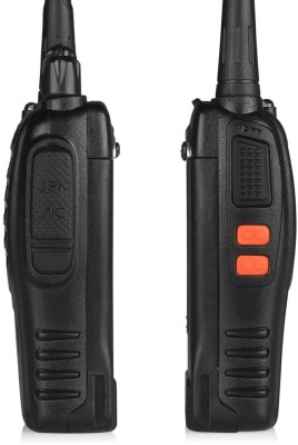 ALONZO BaoFeng 2 Ways Radio Walkie Talkies Baofeng BF-888S Packs Long Range and Reachargeble Battery Walkie Talkie(Black)