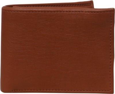 Quetzal Boys Tan Genuine Leather Wallet(5 Card Slots)