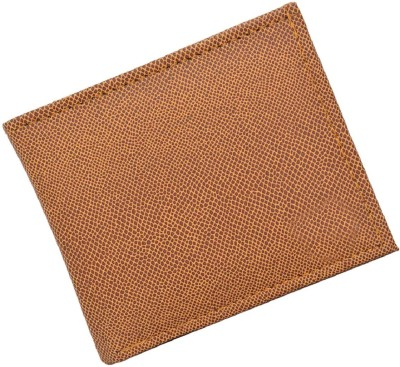 Peacock Mundkar Men Tan Artificial Leather Wallet 4 Card Slots