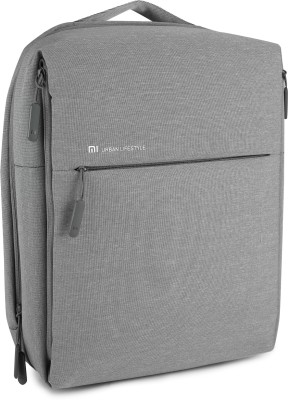 11 Off On Mi City 16 L Laptop Backpack Grey On Flipkart