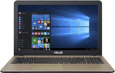 ASUS APU Dual Core E1 E1-6010 - (4 GB/500 GB HDD/Windows 10 Home) X540YA-XO547T Laptop(15.6 inch, Black, 2 kg)